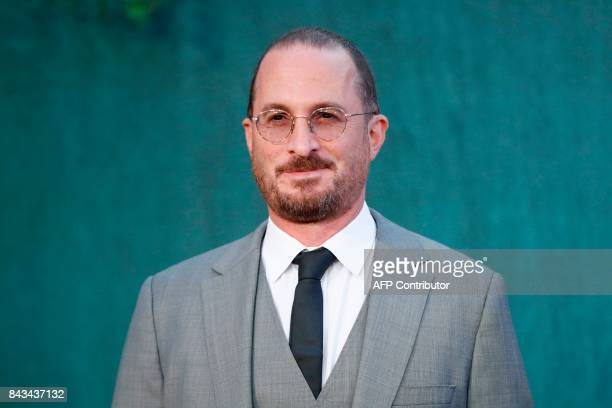 US film director Darren Aronofsky poses for a photograph upon arrival for the UK premiere of the film 'Mother ' in London on September 6 2017 / AFP...