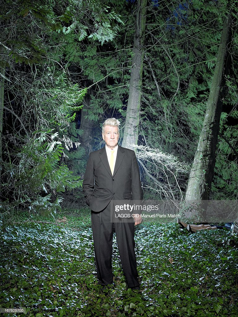 Film director David Lynch is photographed for Paris Match on April 5, 2013 in Beaune, France.