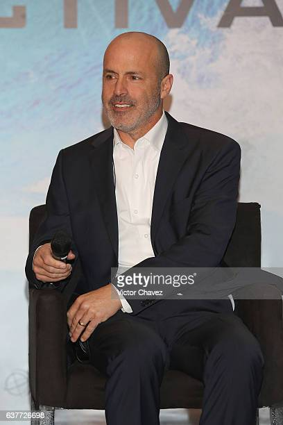 """Film director D.J. Caruso a photocall and press conference to promote the Paramount Pictures film """"xXx: Return of Xander Cage"""" at St. Regis Hotel on..."""