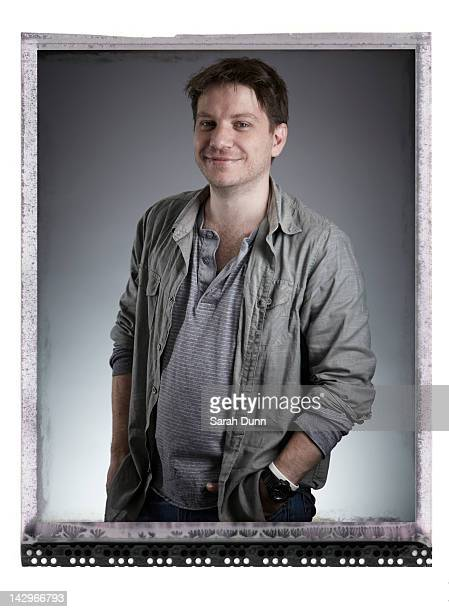 Film director Gareth Edwards is photographed for Empire magazine on August 12 2011 in London England