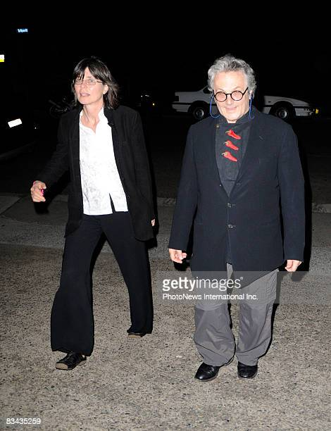 APPLY Film Director George Miller and Margaret Sixel helps celebrate actor Hugh Jackman 40th birthday with his actor wife DeborahLee Furness wife at...