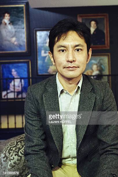 Film director Goro Miyazaki poses during a portrait session on November 14 2011 at Paris France
