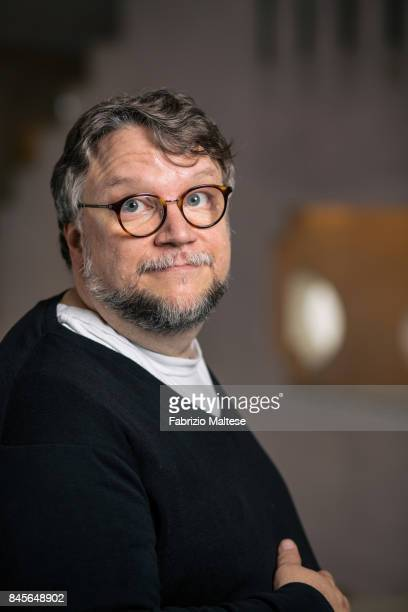 Film director Guillermo del Toro is photographed on August 31 2017 in Venice Italy