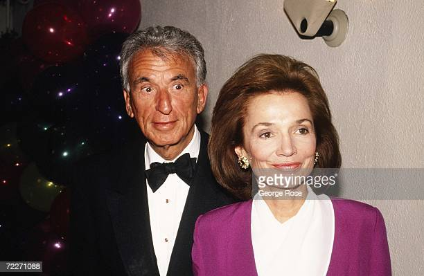 Film Director Herbert Ross and wife Lee Radziwill Jacqueline Kennedy Onassis' younger sister attend Irving Swifty Lazar's Oscar Party hosted at Spago...