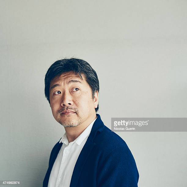 Film director Hirokazu Koreeda is photographed on May 14 2015 in Cannes France