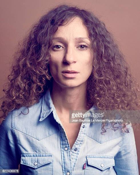 Film director Houda Benyamina is photographed for Madame Figaro on September 8 2016 at the Toronto Film Festival in Toronto Canada CREDIT MUST READ...