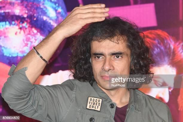 Film director Imtiaz Ali at the his upcoming film Jab Harry Met Sejal promotion on August 052017 in KolkataIndia