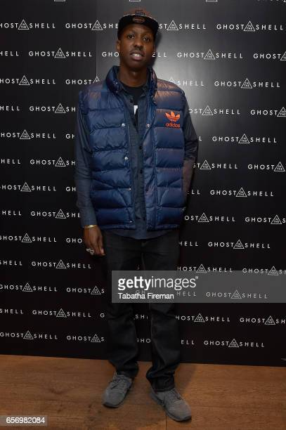 Film Director Jamal Edwards attends the Ghost in The Shell London Gala Screening on March 23 2017 in London United Kingdom