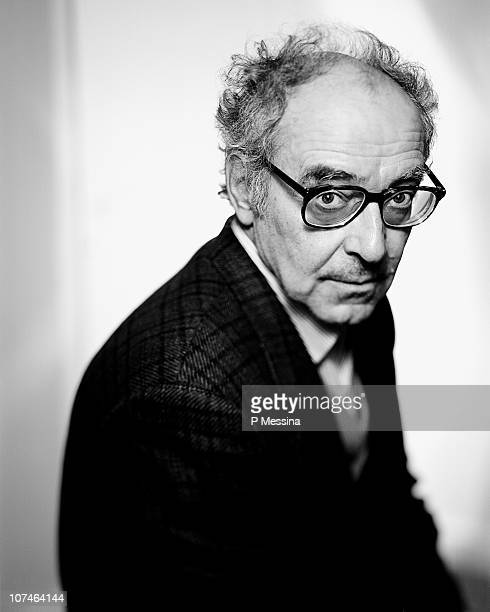 Film director Jean Luc Godard poses at a portrait session in May 1996 in Paris Unpublished photo