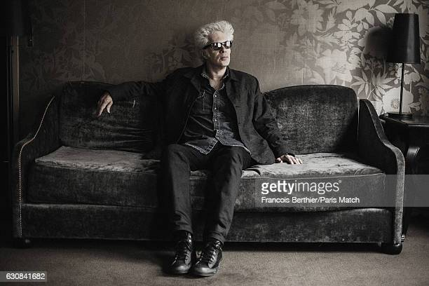 Film director Jim Jarmusch is photographed for Paris Match on November 15, 2016 in Paris, France.