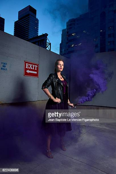 Film director Julia Ducournau is photographed for Madame Figaro on September 8 2016 at the Toronto Film Festival in Toronto Canada PUBLISHED IMAGE...