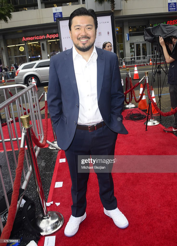 Film Director Justin Lin poses for portrait at Bruno Wu and Seven Stars Entertainment Sponsor TCL Chinese Theatre Handprints For Director Justin Lin And Chinese Stars Zhao Wei And Huang Xiaoming at TCL Chinese Theatre on June 3, 2015 in Hollywood, California.