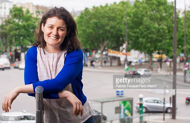 Film director Justine Malle is photographed for Paris Match on June 21, 2013 in Paris, France.