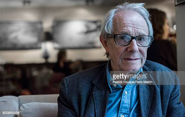 Film director Ken Loach is photographed for Paris Match on September 20 2016 in Paris France