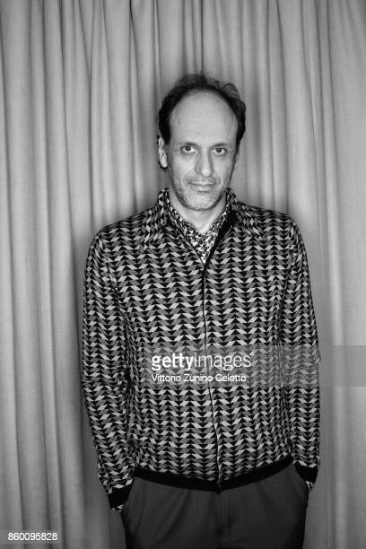 Film director Luca Guadagnino is photographed during the 61st BFI London Film Festival on October 9 2017 in London England