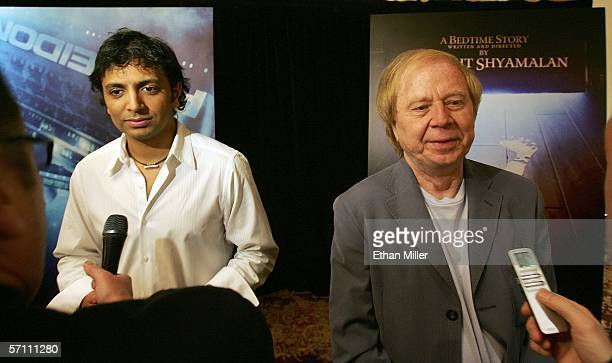 "Film director M. Night Shyamalan is interviewed about his upcoming movie ""Lady in the Water"" as director Wolfgang Petersen is interviewed about his..."