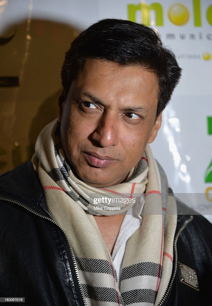 Film director Madhur Bhandarkar attends the 'Ticket 2 Bollywood: Cinema Beyond Boundaries' Opening Night Screening at SVA Theater on September 27, 2013 in New York City.