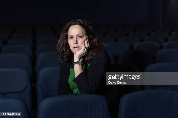 Film director María Augusta Ramos poses for a portrait session at Casa de América on September 11, 2019 in Madrid, Spain.