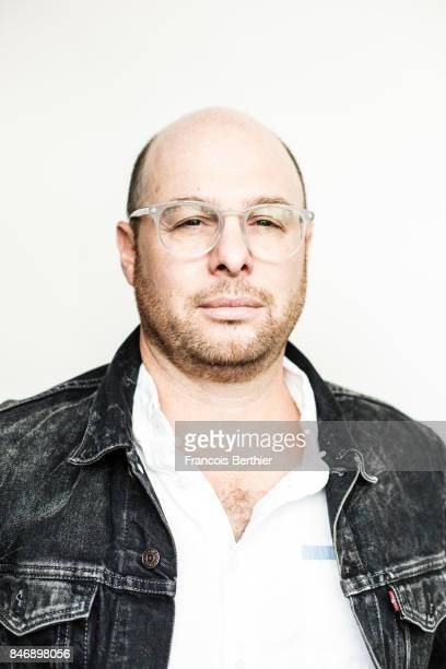 Film director Marc Meyers is photographed on September 9 2017 in Deauville France