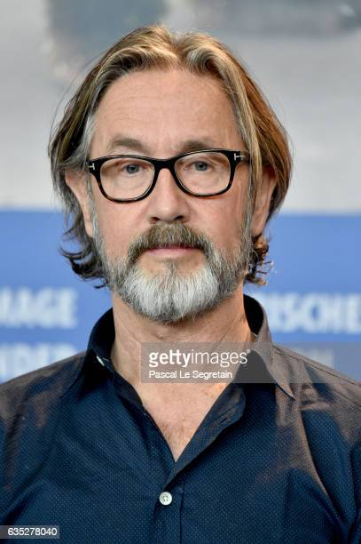 Film director Martin Provost attends the 'The Midwife' press conference during the 67th Berlinale International Film Festival Berlin at Grand Hyatt...