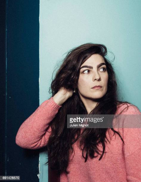 Film director Maryam Goormaghtigh is photographed for Grazia magazine on May 11 2017 in Paris France
