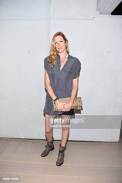 Film Director Megan Raney Erins attends the Daniel Arsham Colorblind Artist In Full Color at Spring Place on September 19 2016 in New York City