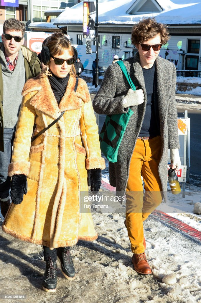 Celebrity Sightings In Park City : News Photo