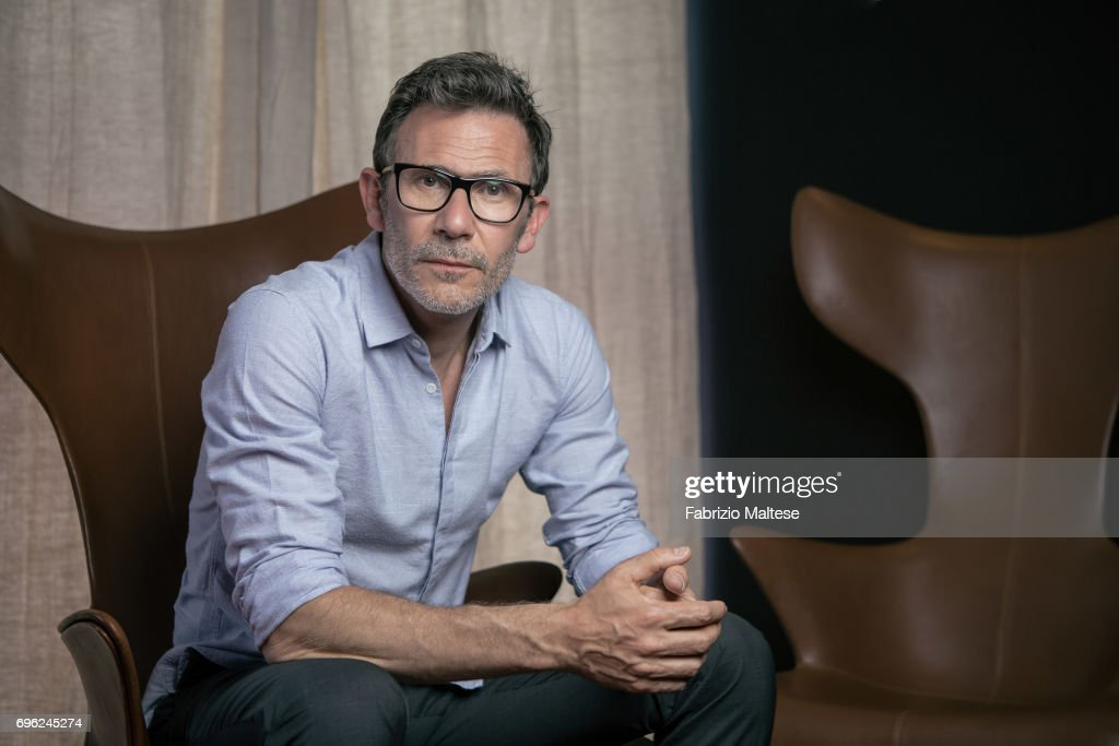 Film director Michel Hazanavicius is photographed for the Hollywood Reporter on May 22, 2017 in Cannes, France.