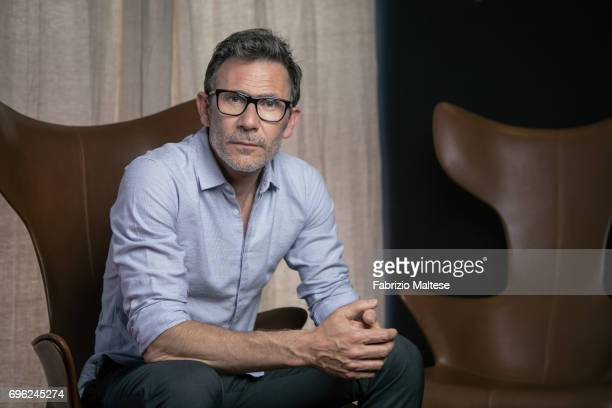 Film director Michel Hazanavicius is photographed for the Hollywood Reporter on May 22 2017 in Cannes France