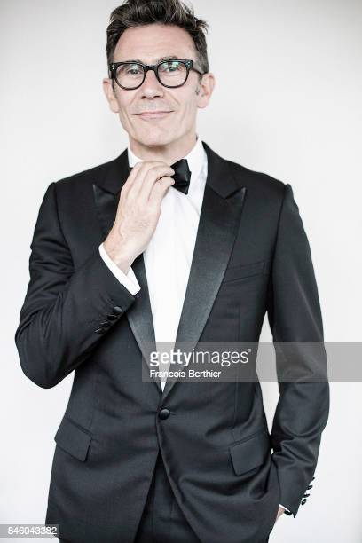 Film director Michel Hazanavicius is photographed on September 9 2017 in Deauville France