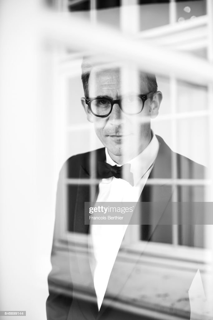 Film director Michel Hazanavicius is photographed on September 9, 2017 in Deauville, France.