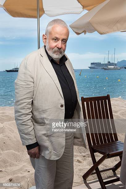 Film director Mike Leigh is photographed in Cannes France