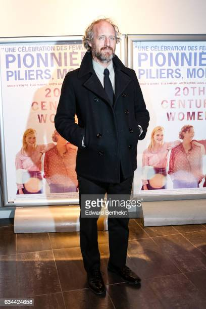 Film Director Mike Mills is seen during the 20th Century Women movie Paris Premiere at Mk2 Bibliotheque on February 9 2017 in Paris France