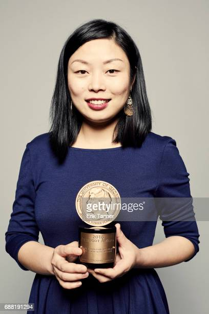 Film director Nanfu Wang is photographed at the 76th Annual Peabody Awards at Cipriani Wall Street on May 20 2017 in New York City