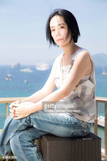 Film director Naomi Kawase is photographed for Paris Match on May 24 2017 in Cannes France