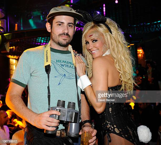 Film director Nick Carpenter and model and television personality Bridget Marquardt attend the Gallery Nightclub at the Planet Hollywood Resort...