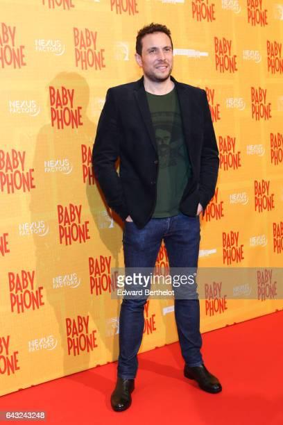 Film Director Olivier Casas during Baby Phone Paris Premiere at Cinema UGC Normandie on February 20 2017 in Paris France