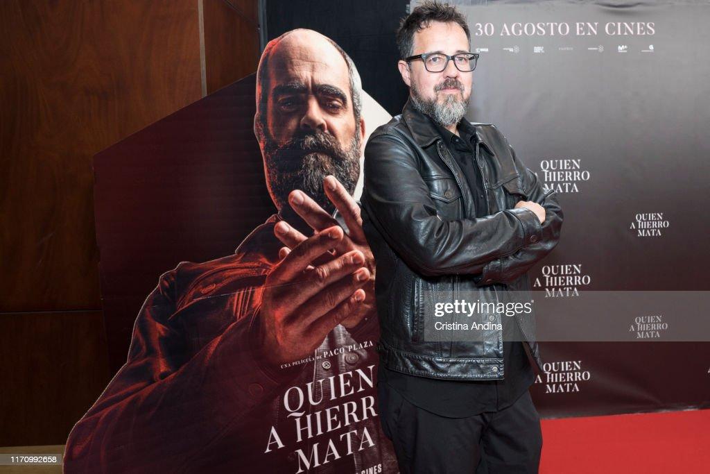 """""""Quien A Hierro Mata"""" A Coruna Premiere : Fotografía de noticias"""