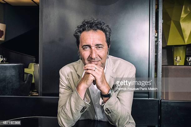 Film director Paolo Sorrentino is photographed for Paris Match on June 30 2015 in Paris France