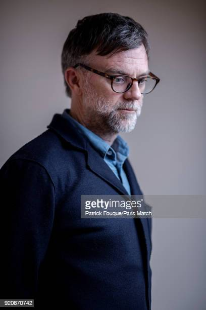 Film director Paul Thomas Anderson is photographed for Paris Match on January 30 2018 in Paris France