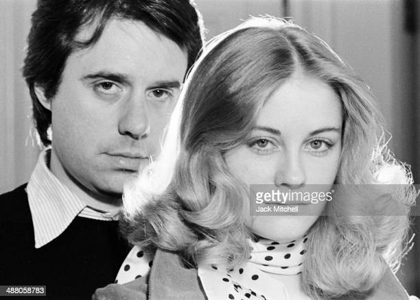 Film director Peter Bogdanovich with actress Cybill Shepherd photographed in May 1974 just prior to the release of 'Daisy Miller'