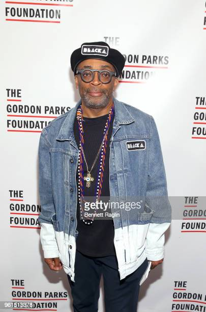Film Director Presenter Spike Lee attends Gordon Parks Foundation 2018 Awards Dinner Auction at Cipriani 42nd Street on May 22 2018 in New York City