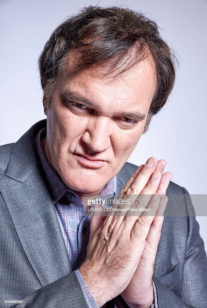 Quentin Tarantino, Paris Match Issue 3477, January 13, 2016