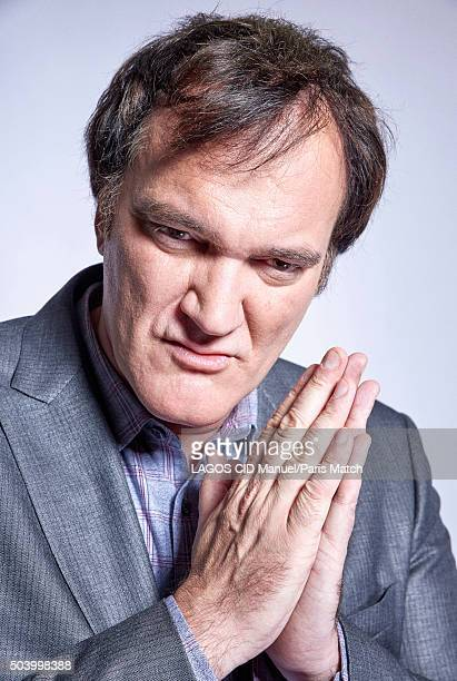 Film director Quentin Tarantino is photographed for Paris Match on December 12 2015 in Paris France