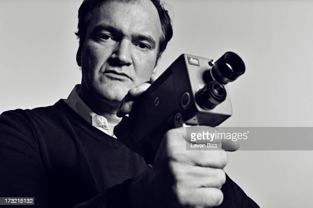 Film director Quentin Tarantino is photographed for Shortlist on December 7 2012 in London England