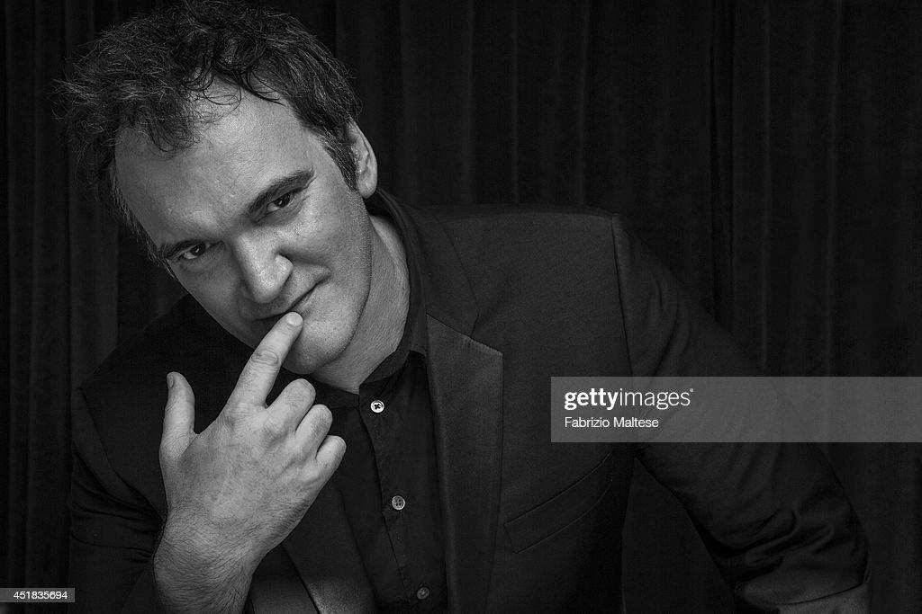 Quentin Tarantino, The Hollywood Reporter USA, June 5, 2014 : News Photo