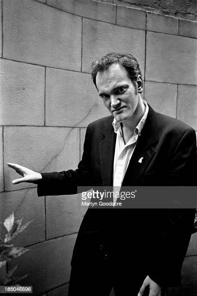 Film director Quentin Tarantino portrait London United Kingdom 1994