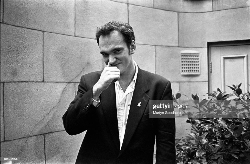 Quentin Tarantino London 1994 : News Photo