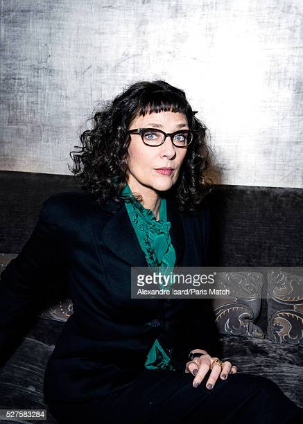 Film director Rebecca Miller is photographed for Paris Match on February 18 2016 in Paris France