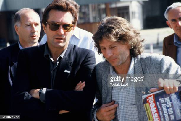 Film director Roman Polanski and American actor Robert De Niro during their visit to Gdansk, where they met with activists of the Polish trade union,...